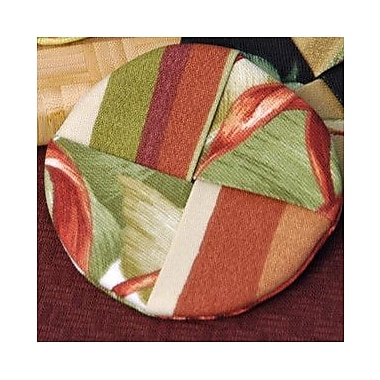 Pacific Table Linens Outdoor Wine Glass Coaster (Set of 2); Makeba Capri