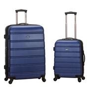 Rockland 2 Piece Luggage Set; Blue