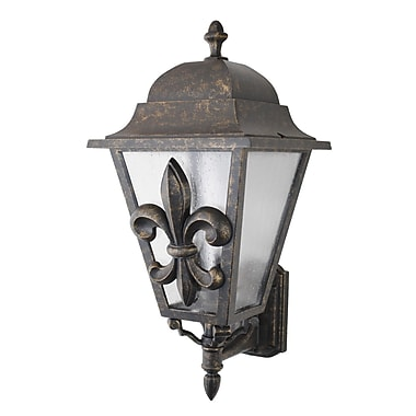 Melissa Americana 3 Light Outdoor Sconce; Architectural Bronze