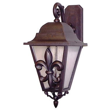 Melissa Americana 3-Light Outdoor Wall Lantern; Patina Bronze