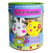Innovative Kids Best Friends Soft Shapes Giant Floor Puzzle