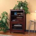 Wildon Home   Veneto Audio Cabinet; Walnut Brown