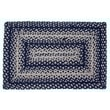 IHF Home Decor Cobalt Rug; 1'8'' x 2'6''