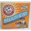 ARM & HAMMER Multi-Cat Extra Strength Clumping Unscented Litter; 20 lbs