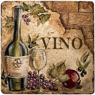Thirstystone Vino Travertine Ambiance Trivet