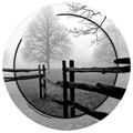 Thirstystone Fence in the Mist Occasions Coasters Set (Set of 4)