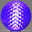 Queens of Christmas 1.7W LED Light Bulb (Pack of 10); Purple