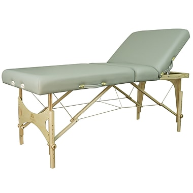 Oakworks 30'' Alliance Wood Table; Clay