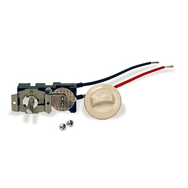 Cadet Com-Pak Plus Series Thermostat Kit; Almond