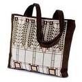 Rennie & Rose Design Group Frank Lloyd Wright Tree of Life Unlined Shoulder Tote Bag (Set of 4)