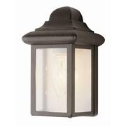 TransGlobe Lighting 1 Light Outdoor Flush Mount; Black Copper