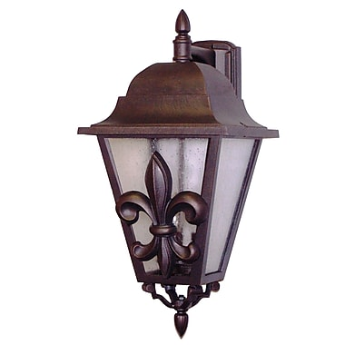 Melissa Americana 3-Light Outdoor Wall Lantern; Old World