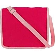 Princess Linens Doodlebugz Crayola Messenger Bag; Hot Pink