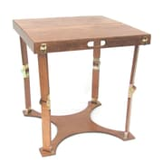 Spiderlegs Folding Homework Writing Desk; Light Walnut