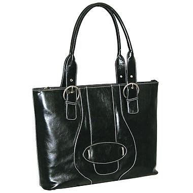 Buxton Sapphire Comp Tote Bag; Black