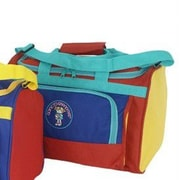 Mercury Luggage Going to Grandma's Child's Duffel Bag; Girl's Multi-Color (Red Base Color)