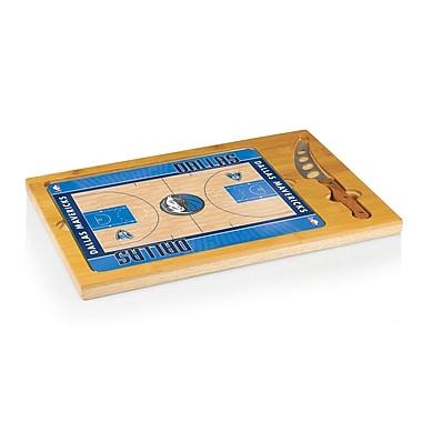 Picnic Time NBA Icon Cutting Cheese Board; Dallas Mavericks