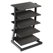 Plateau Z-Series Audio Rack; 5-Shelf