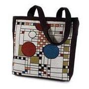 Rennie & Rose Design Group Frank Lloyd Wright Coonley Placehouse Unlined Shoulder Tote Bag