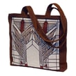 Rennie & Rose Design Group Frank Lloyd Wright Sumac Unlined Shoulder Tote Bag