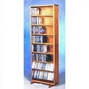 Wood Shed 800 Series 336 CD Dowel Multimedia Storage Rack; Unfinished