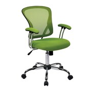 Office Star Ave Six 17.5'' Mesh Juliana Task Chair with Mesh Seat; Green