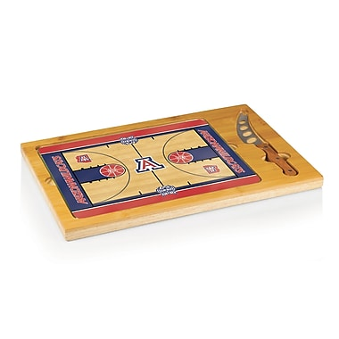 Picnic Time NCAA Icon Cutting Cheese Tray; University of Arizona Wildcats