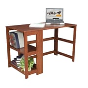 Regency Flip-Flop Writing Desk and Bookcase; Cherry