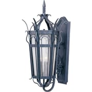 Maxim Lighting Cathedral 3-Light Outdoor Wall Lantern; 25.75'' H x 13'' W