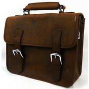 Vagabond Traveler Messenger Bag; Brown