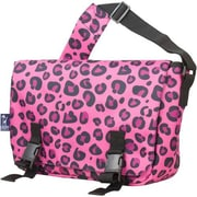 Wildkin Pink Leopard Jumpstart Messenger Bag