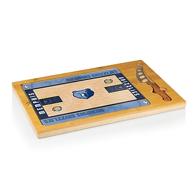 Picnic Time NBA Icon Cutting Cheese Board; Memphis Grizzlies