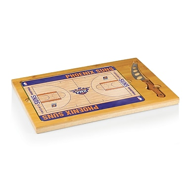 Picnic Time NBA Icon Cutting Cheese Board; Phoenix Suns