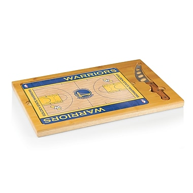 Picnic Time NBA Icon Cutting Cheese Board; Golden State Warriors