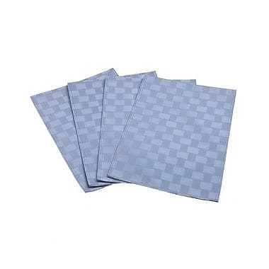 Bardwil Tablecloths Bardwil Home - Reflections Placemat; Stone Blue (Set of 4)
