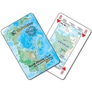 Universal Map World Map Playing Cards