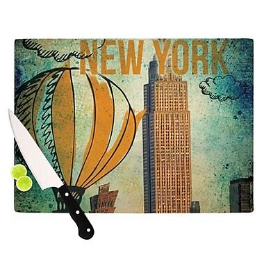 KESS InHouse New York Cutting Board; 11.5'' H x 8.25'' W x 0.25'' D