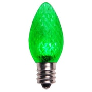 Queens of Christmas LED Light Bulb (Pack of 25); Green