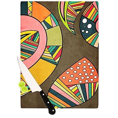 KESS InHouse Cosmic Aztec Cutting Board; 11.5'' H x 8.25'' W x 0.25'' D