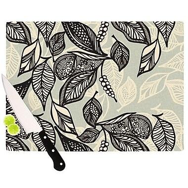 KESS InHouse Java Leaf Cutting Board; 11.5'' H x 8.25'' W x 0.25'' D
