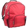 Wildkin Monogram Macropak Backpack; Cardinal Red