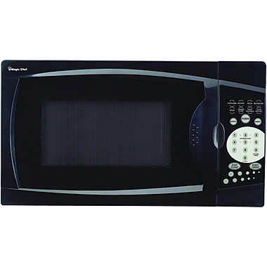 Magic Chef 0.7 Cu. Ft. 700W Countertop Microwave; Black