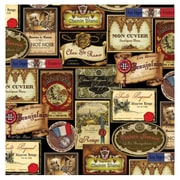 Thirstystone French Wine Labels Occasions Coasters Set (Set of 4)