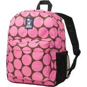 Wildkin Big Dots Crackerjack Backpack; Hot Pink