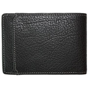 Boconi Tyler Tumbled Slimster; Black with Green Plaid