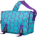 Wildkin Big Dots Jumpstart Messenger Bag; Aqua