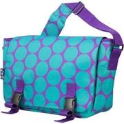 Wildkin Big Dots Jumpstart Messenger Bag; Aqua