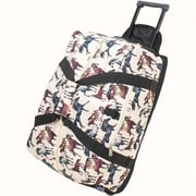 Wildkin Good Times Horse Dreams Rolling Duffel Bag