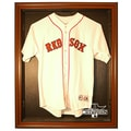 Caseworks International 2013 Red Sox World Series Champs Cabinet Style Jersey Display; Brown