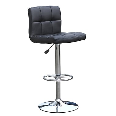 CHP Furniture Adjustable Height Swivel Bar Stool with Cushion